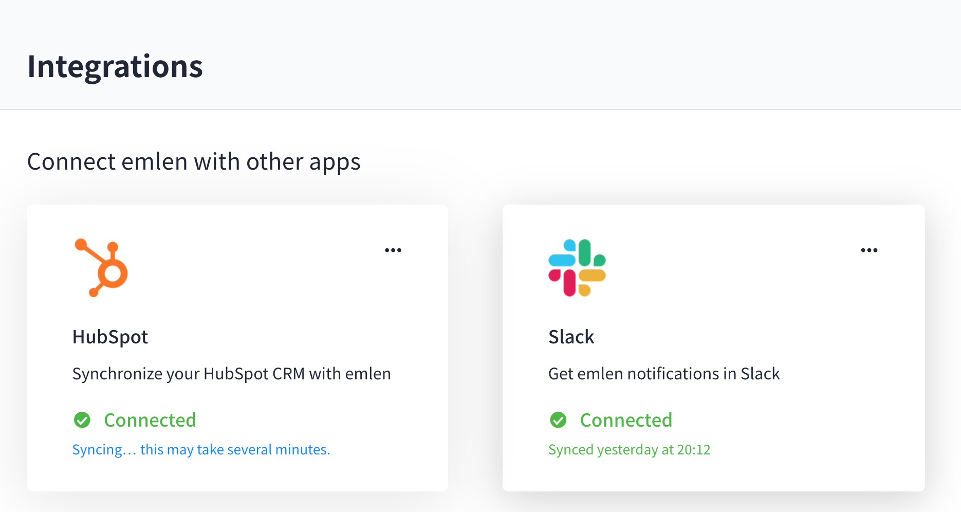 Integrations Hubspot_Slack